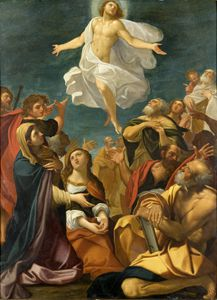 Giacomo Cavedone - Ascension of Christ
