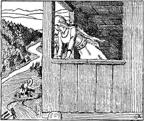 Harald Haarfagres saga - Gyda 2 by Christian Krohg (1852-1925 ... 771f224bfb7a2