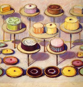 Wayne Thiebaud - Untitled (219)