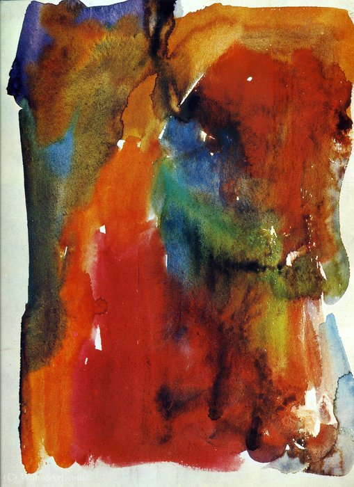 Untitled (470) by Hans Heinrich Hartung (1904-1989, Germany)