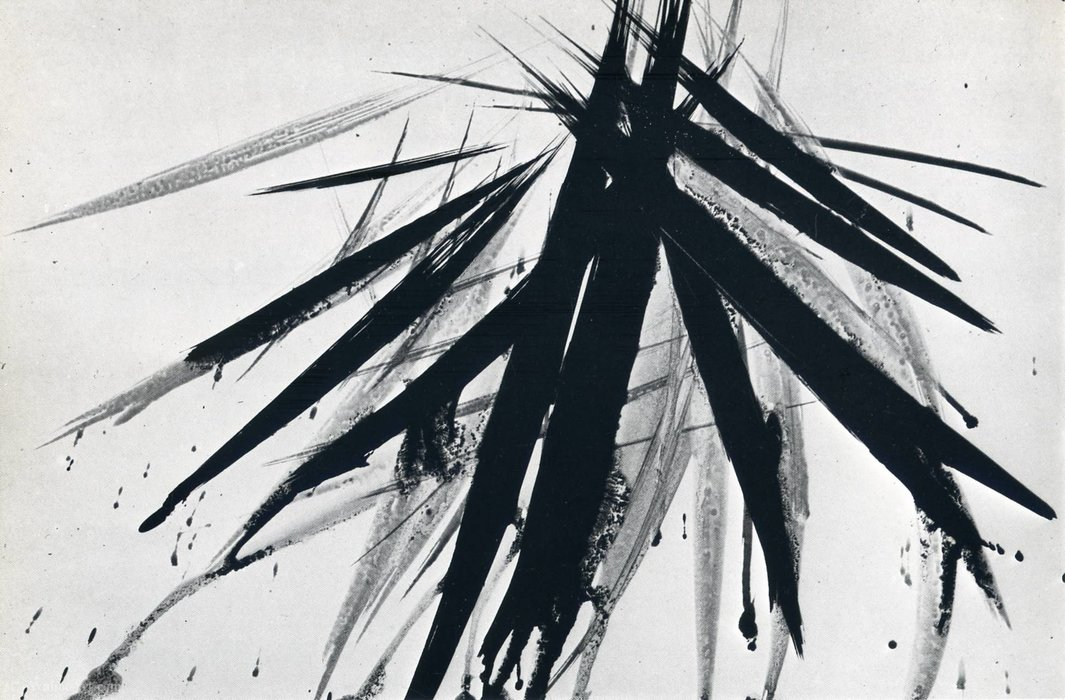 Untitled (656) by Hans Heinrich Hartung (1904-1989, Germany) | WahooArt.com