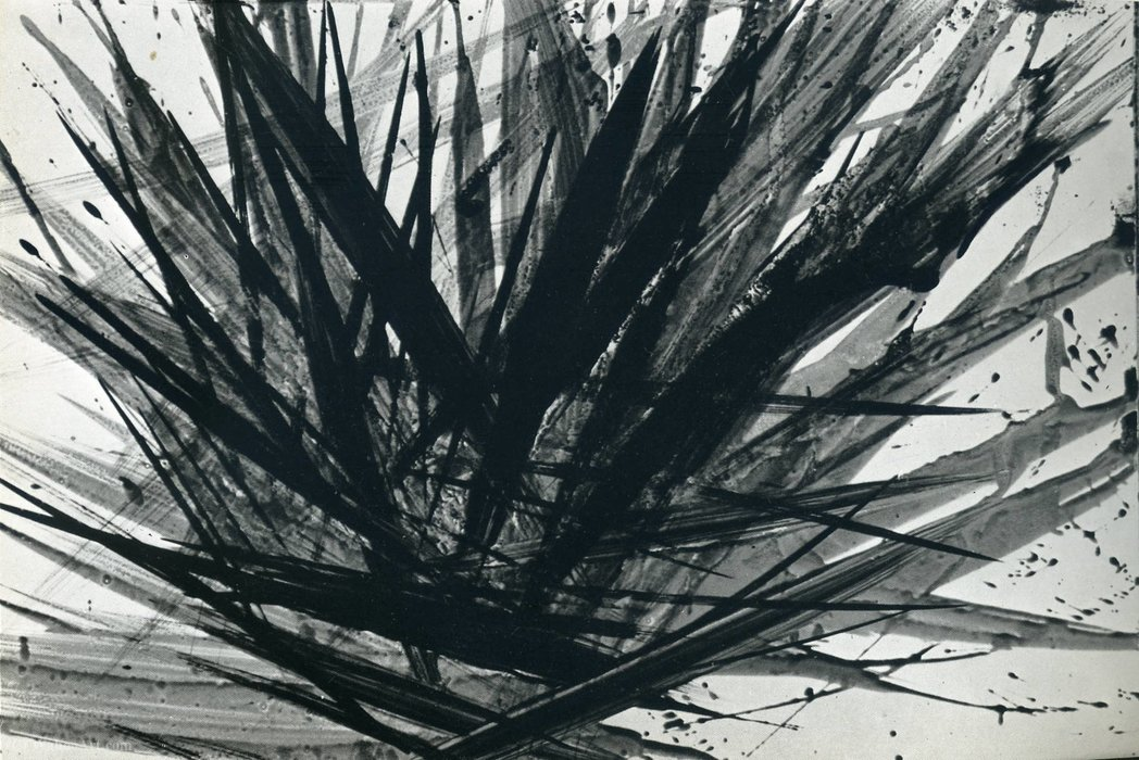 Untitled (363) by Hans Heinrich Hartung (1904-1989, Germany) | WahooArt.com