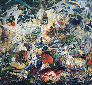 Joseph Stella - Untitled (203)