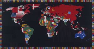 Alighiero Boetti - Map of the World
