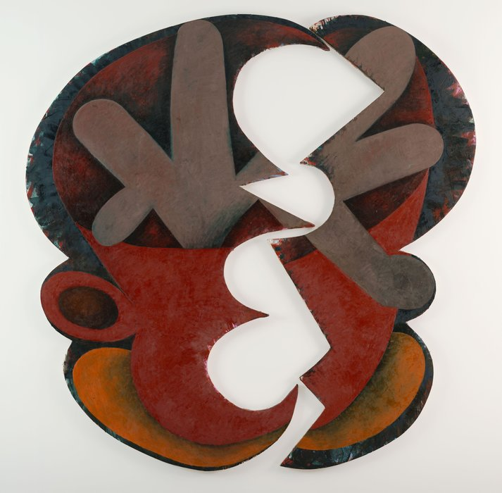 Yikes by Elizabeth Murray (1940-2007, United States)