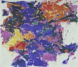 Sam Francis - Towards Disappearance, II