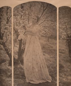 Clarence H. White - Spring - a triptych