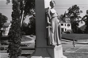 Lee Friedlander - To Those Who Made the Supreme Sacrifice. Bellows Falls, Vermont