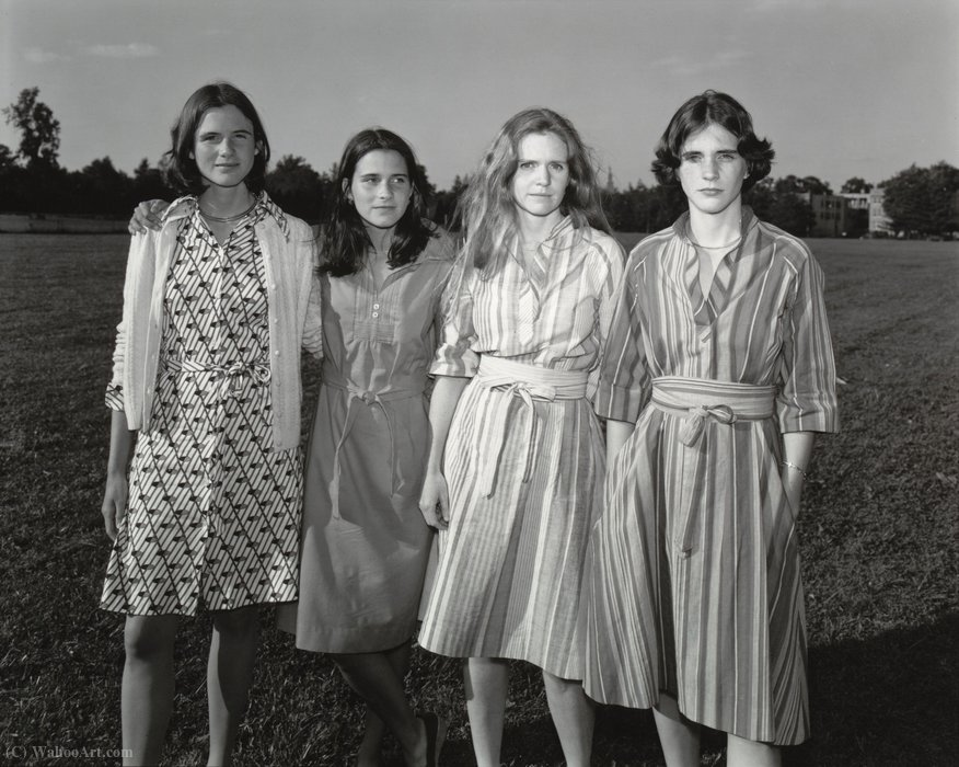 The brown sisters (20) by Nicholas Nixon | Museum Quality Reproductions | WahooArt.com