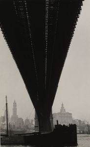 Walker Evans - Brooklyn bridge, new york