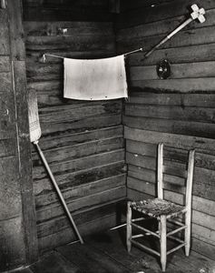 Order Paintings Reproductions | Kitchen corner, tenant farmhouse, hale county, alabama by Walker Evans (1903-1975, United States) | WahooArt.com