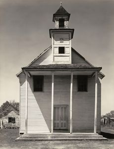 Walker Evans - Negro church, south carolina