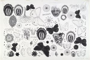 Kiki Smith - Tattoo print