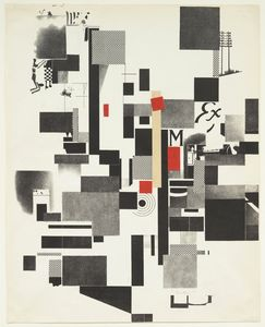 Order Reproductions | Untitled from Merz Mappe by Kurt Schwitters (1887-1948) | WahooArt.com