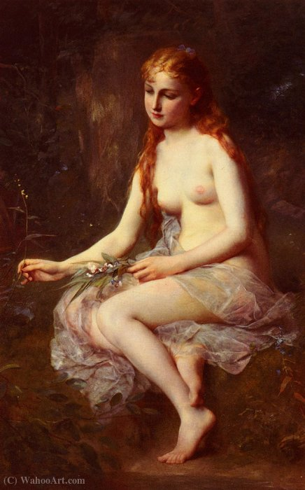 Innocence by Adolphe Jourdan