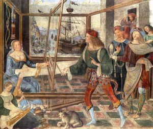 Pinturicchio - The Return of Odysseus