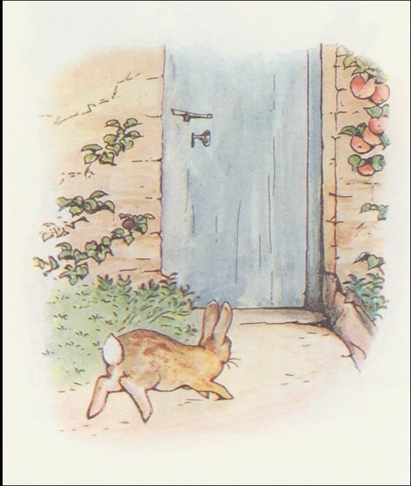 Peter rabbit 22a - (11x12) by Beatrix Potter (1866-1943)
