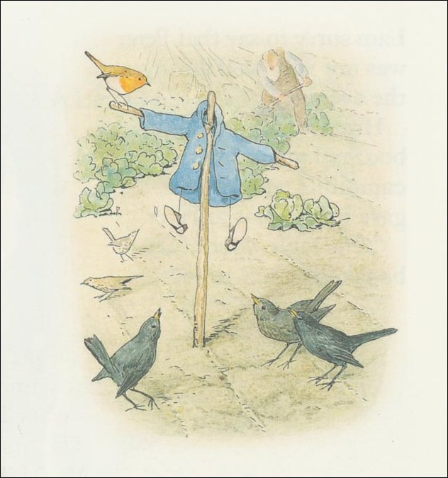 Peter rabbit 28a - (11x11) by Beatrix Potter (1866-1943)