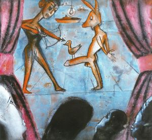 Francesco Clemente - Untitled (920)