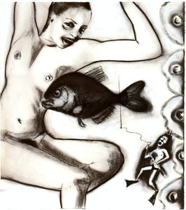 Francesco Clemente - Untitled (988)