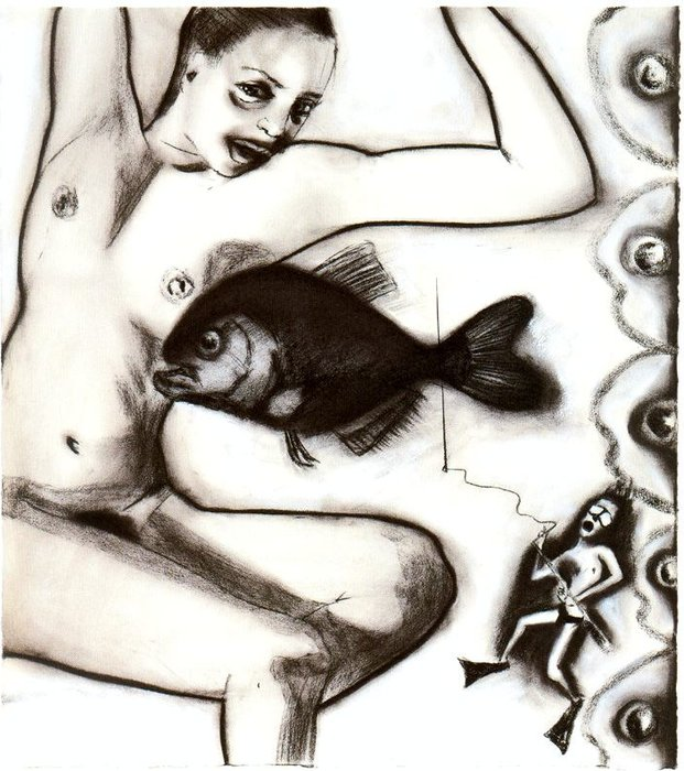 Untitled (988) by Francesco Clemente