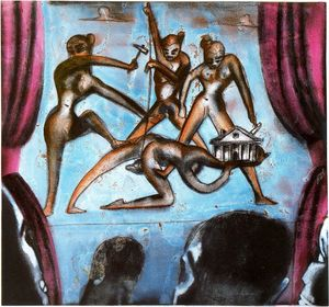 Francesco Clemente - Untitled (450)