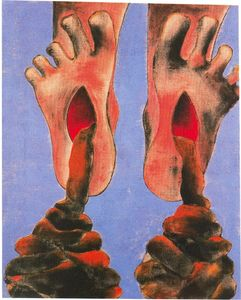 Francesco Clemente - Untitled (833)