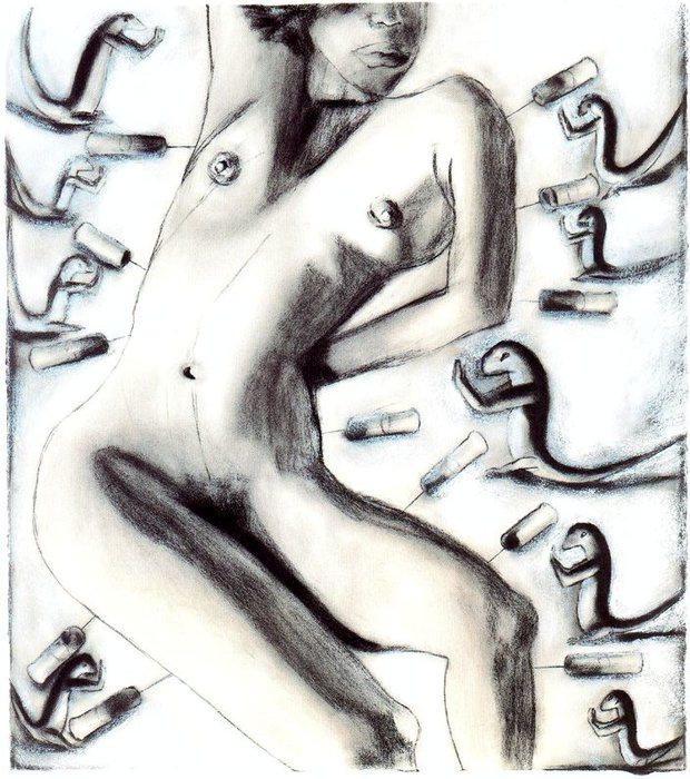 Untitled (279) by Francesco Clemente