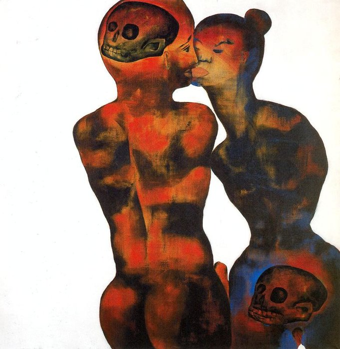 Morning by Francesco Clemente | Museum Quality Reproductions | WahooArt.com