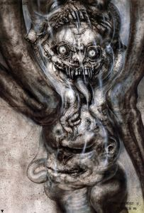 H.R. Giger - hr giger pII the great beast p14