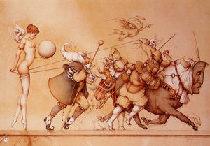 Michael Parkes - Returning the sphere