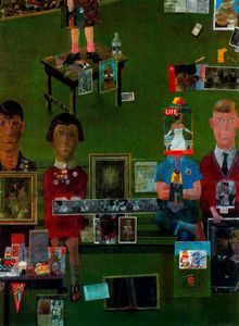 Peter Blake - On the Balcony