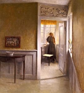 Peter Ilsted - Vilhelm looking out the window