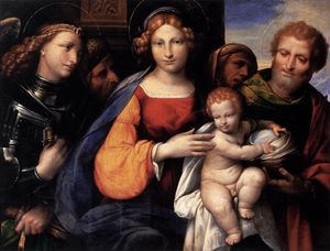 Garofalo - Virgin and Child with Saints