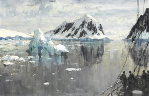 Edward Seago - Entering the Lemaire Channel, Antarctica, 2 January (1957)