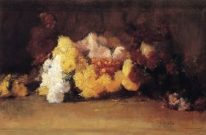Guy Rose - Chrysanthemums, (1887)