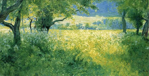 Guy Rose - July afternoon, (1897)