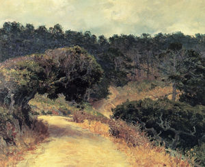 Guy Rose - Monterey forest, (1919)