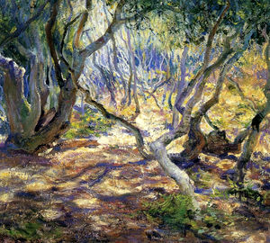 Guy Rose - Oak grove, carmel, (1919)