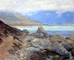 Guy Rose - Path along the Shore