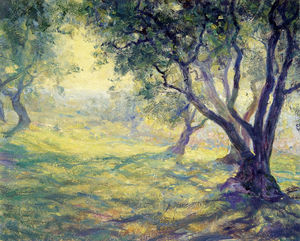 Guy Rose - Provincial olive grove