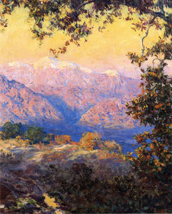 Guy Rose - Sunset Glow (aka Sunset in the High Sierras)