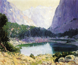 Guy Rose - Twin lakes, high sierra