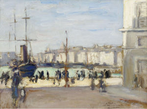 Albert André - Port of Marseille, (1918)