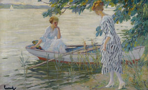 Edward Cucuel - On the Shore