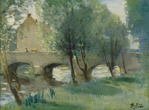 Pierre-Eugène Montézin - The bridge - (02)