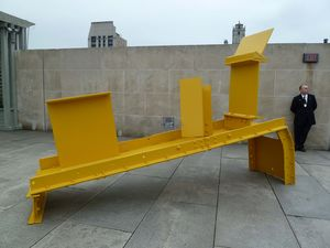 Anthony Caro - On the roof