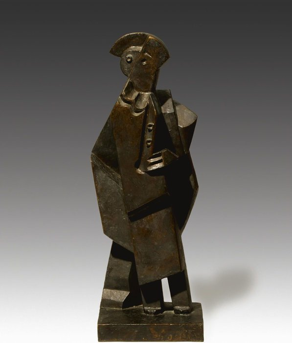 Order Art Reproductions | Untitled (491) by Jacques Lipchitz (1891-1973, Lithuania) | WahooArt.com