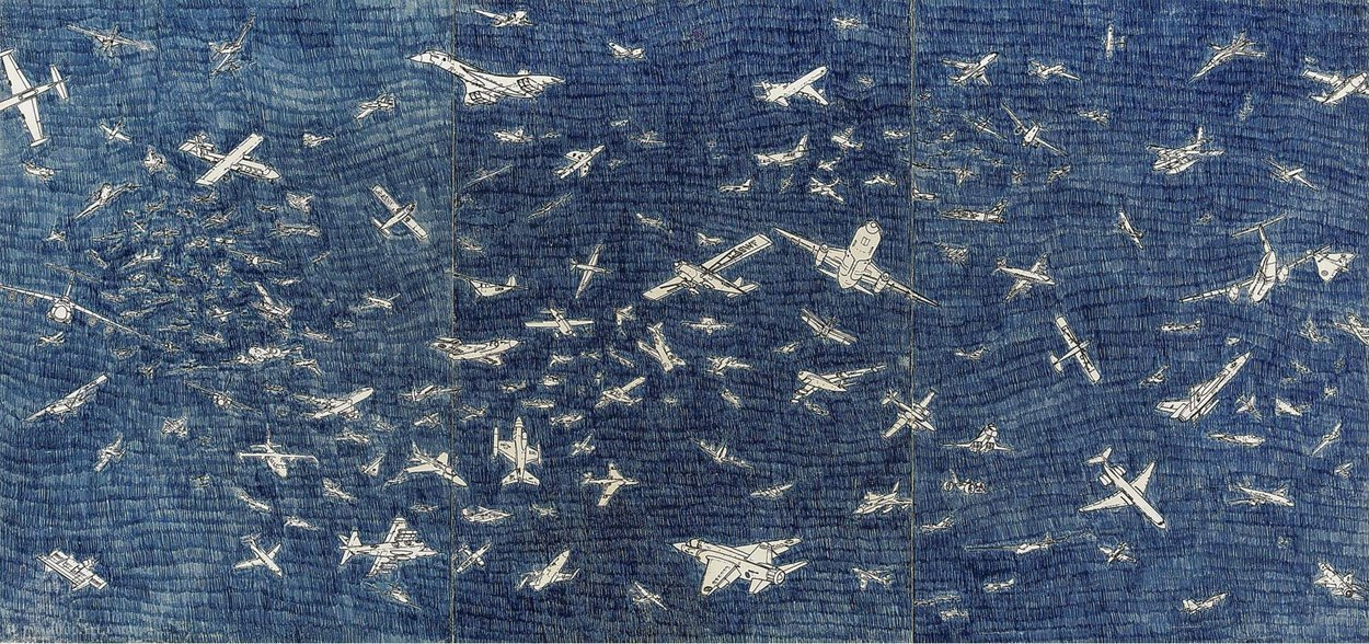 Untitled (263) by Alighiero Boetti (1940-1994)