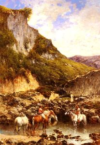 Victor Huguet - The noble ravine